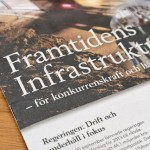 """Oktober 2012: Medverkar i DI-bilagan """"Framtidens Infrastruktur"""""""