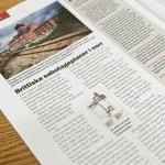 November 2012: Artikel publicerad i tidskriften Militär Historia