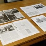 Februari 2013: Lägger sista handen vid Bosnien-artikel inför tryck