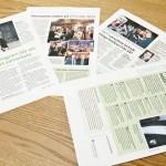 """Juni 2013: Publicerar fyra artiklar i tidningen """"Kundvärdet"""""""