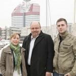 Anna Tirén, Lars-Bertil Ekman och Adis Baksic