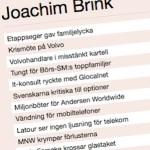 Nyhetsartiklar i Dagens Industri från 2002