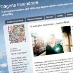"""31 oktober 2012: Gästskribent för bloggen """"Dagens Invandrare"""""""