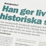 """""""Han ger liv åt historiska slag"""""""