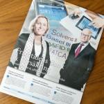 """Mars 2013: Medverkar i DI-bilagan """"Framtidens Bank & Försäkring"""""""