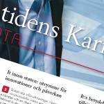 """Maj 2013: Producerar copy till tematidn. """"Framtidens Karriär: IT & Data"""""""