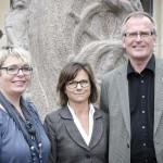 Mari-Louise Wernersson, Catharina Rydberg Lilja och Rolf Landholm