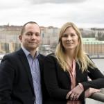 Johan Wallin och Lisa Svalmark