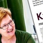 """Oktober 2012: Medverkar med två uppslag och omslagsartikel i tidningen """"Kundvärdet"""""""