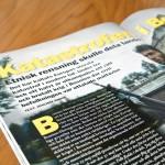 Mars 2013: Två artiklar publicerade i tidskriften Militär Historia