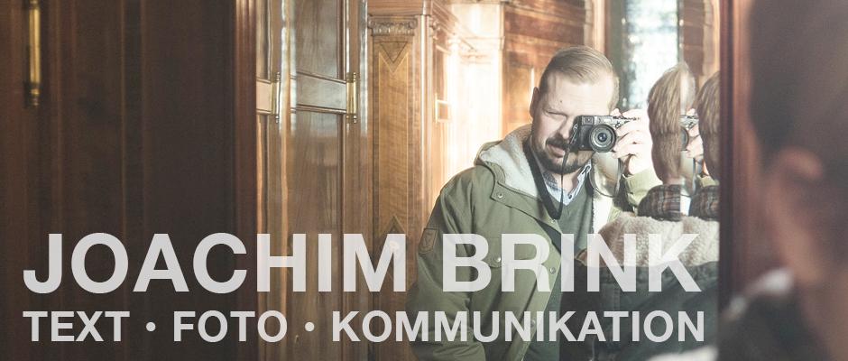 Joachim Brink: Text, foto, kommunikation