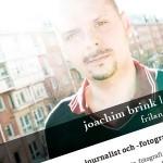 joachimbrink.com - Framsida den 1 maj 2012